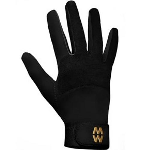Macwet MicroMesh Equestrian Gloves Black