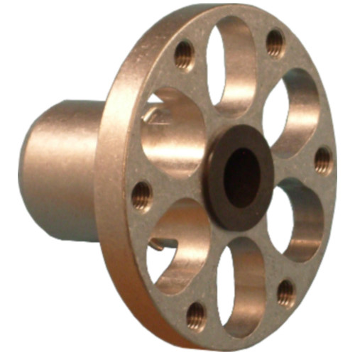 Colson Series 2 Hub, Press Fit, 3/8 Bushing Bore, Flange