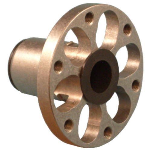 Colson Series 2 Hub, Press Fit, 1/2 Bushing Bore, Flange