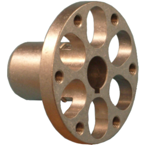 Colson Series 2 Hub, Press Fit, 1/2 Keyed Bore, Flange
