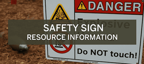 Safety Sign Resource Information Experience
