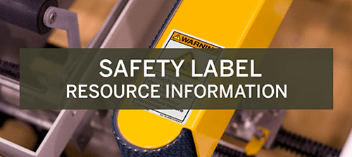 Safety Label Resource Information Experience