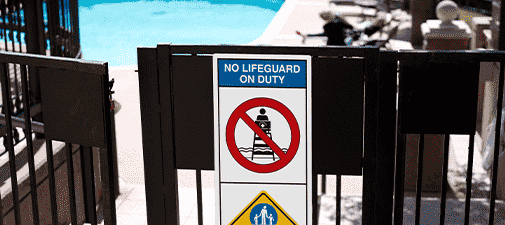 Pool Signs Experience