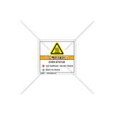 Oven Status Label (C6941-05)