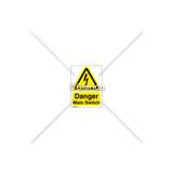 Danger/Main Switch Label (C6855-11)