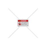 Danger/Safety Interlock Label (C18100-04)