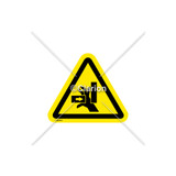 Crush Hazard Label (IS1277-PD)