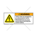 Warning/External Power Source Label (9060-01WHPG)