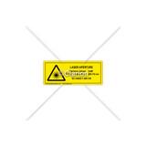 Laser Aperture Label (8693-04HPI)