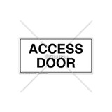 Access Door Label (C8021-03)
