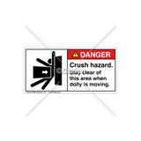Danger/Dolly Moving Label (5013-7MDHPJ)