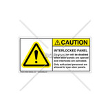 Caution/Interlock Panel Label (H6014-G49CHPJ)