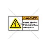 Warning/Power Derived From Label (H6010-E14WHPJ)
