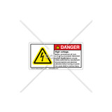 Danger/High Voltage Label (C25054-05)