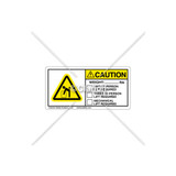 Caution/Weight Label (C12831-03)