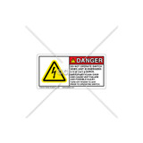 Danger/Do Not Operate Switch Label (C25418-02)