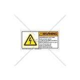 Warning/Hazardous Voltage Label (C5216-01)