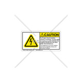Caution/For Proper Circuit Label (C5758-16)