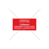 Emergency Platen Open Label (532-2006)