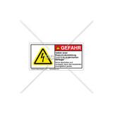 Danger/Arc Flash And Shock Label (030288-004)