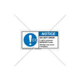 Notice/Do Not Drop Label (H6055-W98NHPK)