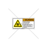 Warning/Cold Surface Label (H6044-A98WHPK)