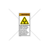 Warning/Radio Frequency Label (H6027-8JWVPK)