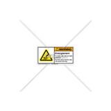 Warning/Entanglement Hazard Label (H1010-482WHPL)