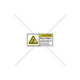 Caution/Heavy Object Label (H5158-J54CHPL)