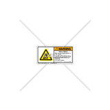 Warning/Heavy Object Label (H5158-658WH2L)