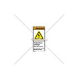 Warning/Hazardous Voltage Label (H6010-Y5WVPL)