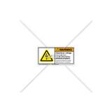Warning/Hazardous Voltage Label (H6010-AHWHPL)