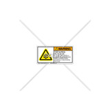 Warning/Cold Surface Label (H6044-A98WHPL)