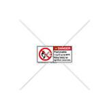 Danger/Flammable Liquid Label (H6157-L45DHPL)