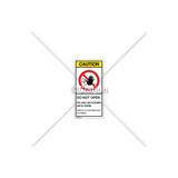 Caution/Do Not Open Label (C3753-05)