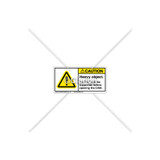 Caution/Heavy Object Label (C1169-07)