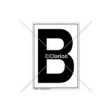 B Label (C8021-09)