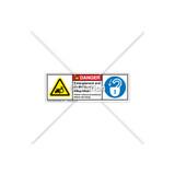 Danger/Entanglement Label (H1012/6013-E39DHPU)