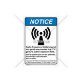 Notice/Radio Frequency Fields Label (6027-371NVBR5)