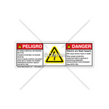 Danger/Electric Arc Flash Label (BSM-H6010-FA7DHPT)