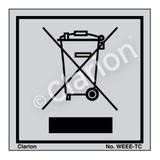 No Waste Label (WEEE-TC)