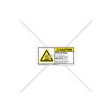 Caution/Hot Surface Label (H6043-438CHPL)