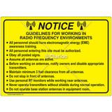 Notice/Guideline  Sign (C28355-06)