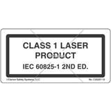 Class 1 Laser Product Label (C20237-12)