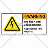 Warning/Arc Flash Label (C19908-01)