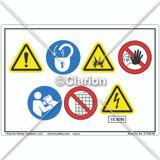 ISO symbols Label (C7546-08)