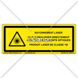 Laser Radiation Class 1M (C5942-02)
