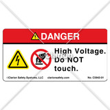 Danger/High Voltage (C5942-01)