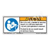 Warning/Do Not Start (H6126-GRWHPI)
