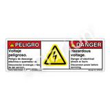 Danger/Hazardous Voltage (C6793-05)